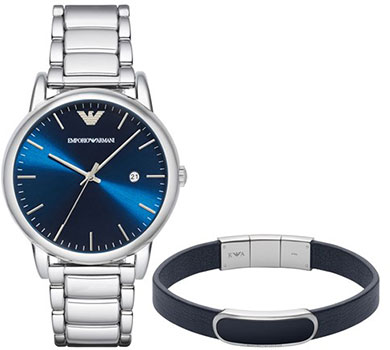 Emporio armani Часы Emporio armani AR8033. Коллекция Dress Watch Gift Set бра odeon light alvada 2911 3w