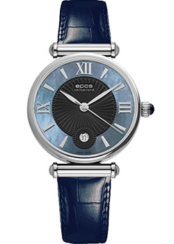 Epos Часы Epos 8000.700.20.65.16. Коллекция Ladies часы nixon time teller deluxe leather navy sunray brow