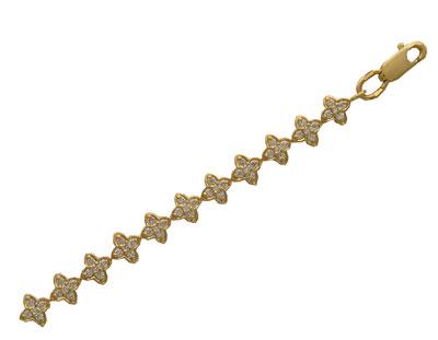 Золотой браслет Ювелирное изделие 01B640134