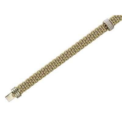 Золотой браслет Ювелирное изделие 01B661372J ювелирное изделие 550001 b