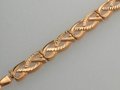 Золотой браслет  01B710408 Ювелирное изделие