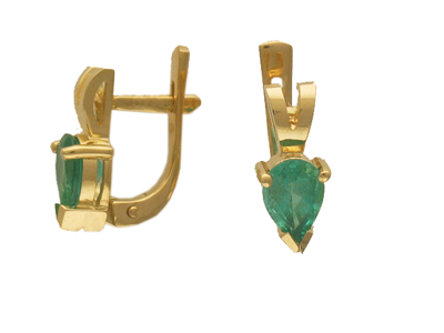 Золотые серьги Ювелирное изделие 01C513250