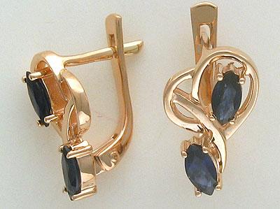 Золотые серьги Ювелирное изделие 01C513537 серьги yaffo tze419