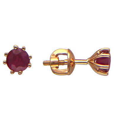 Золотые серьги Ювелирное изделие 01C514136