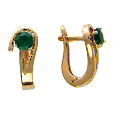 Золотые серьги Ювелирное изделие 01C562637