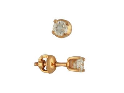 Золотые серьги Ювелирное изделие 01C611920