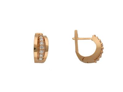 Золотые серьги Ювелирное изделие 01C612813