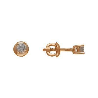 Золотые серьги Ювелирное изделие 01C612828
