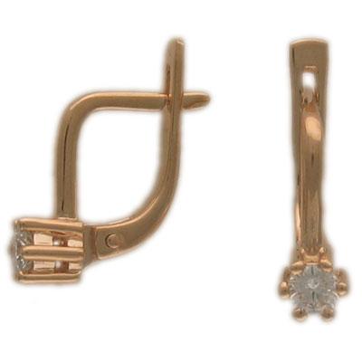 Золотые серьги Ювелирное изделие 01C613071