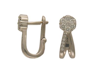 Золотые серьги Ювелирное изделие 01C613249Z золотые серьги ювелирное изделие 01c613249z