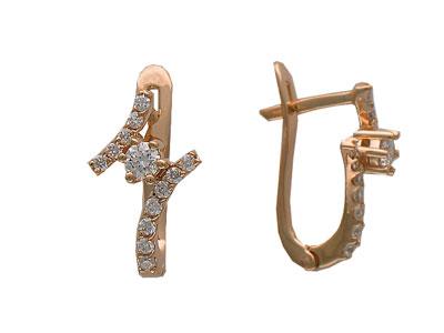 Золотые серьги Ювелирное изделие 01C613473