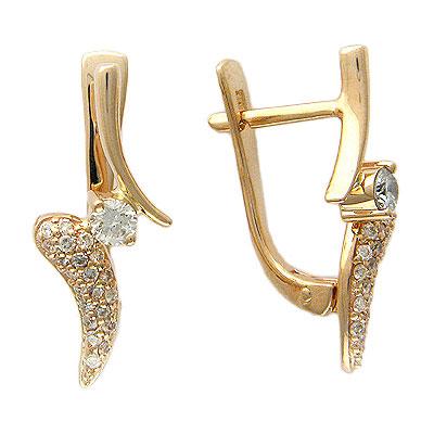 Золотые серьги Ювелирное изделие 01C613518