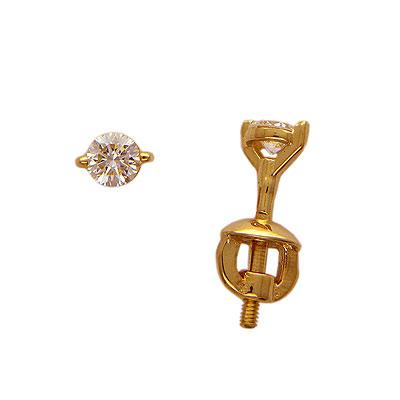 Золотые серьги Ювелирное изделие 01C613832
