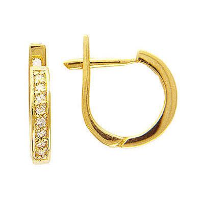 Золотые серьги Ювелирное изделие 01C614163