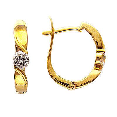 Золотые серьги Ювелирное изделие 01C614365