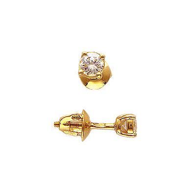 Золотые серьги Ювелирное изделие 01C614700 золотые серьги ювелирное изделие 74878