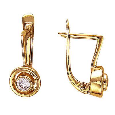 Золотые серьги Ювелирное изделие 01C615041