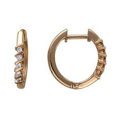 Золотые серьги Ювелирное изделие 01C615579