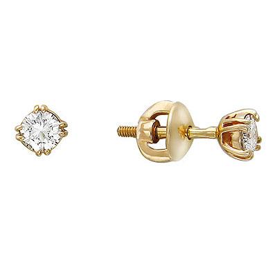 Золотые серьги Ювелирное изделие 01C616229
