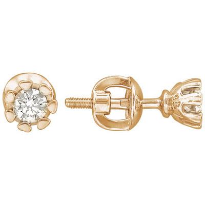 Золотые серьги Ювелирное изделие 01C616780