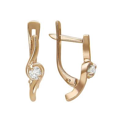Золотые серьги Ювелирное изделие 01C616812
