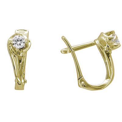 Золотые серьги Ювелирное изделие 01C635750