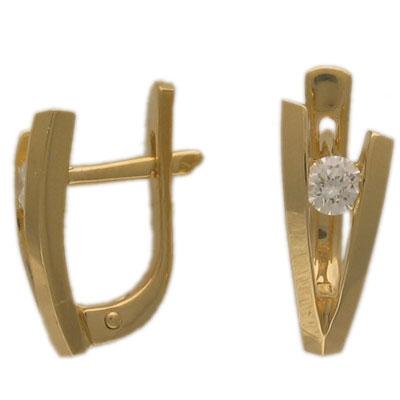 Золотые серьги Ювелирное изделие 01C641437
