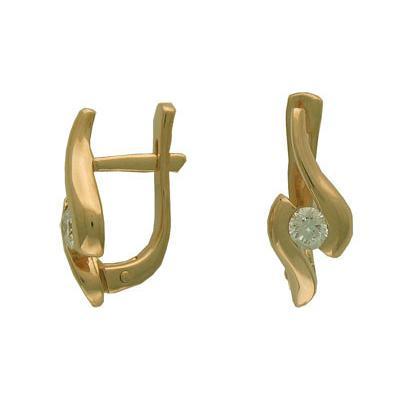 Золотые серьги Ювелирное изделие 01C641438