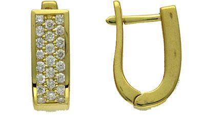Золотые серьги Ювелирное изделие 01C642379