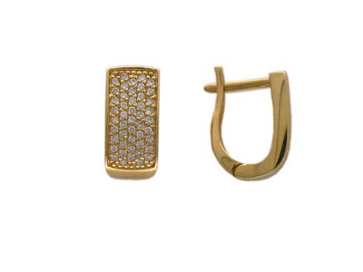 Золотые серьги Ювелирное изделие 01C642815