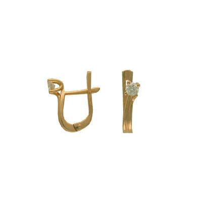 Золотые серьги Ювелирное изделие 01C642976