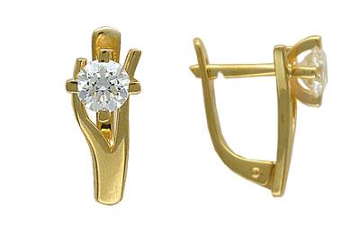 Золотые серьги Ювелирное изделие 01C643551