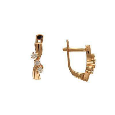 Золотые серьги Ювелирное изделие 01C643856