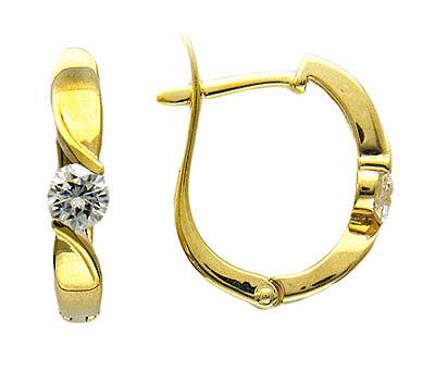 Золотые серьги Ювелирное изделие 01C644365