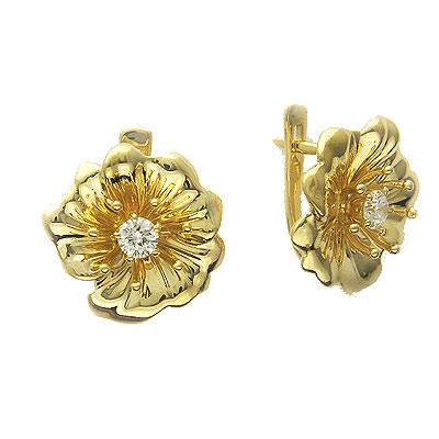 Золотые серьги Ювелирное изделие 01C644581