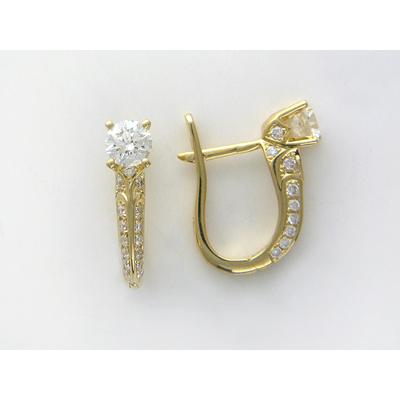 Золотые серьги Ювелирное изделие 01C644631