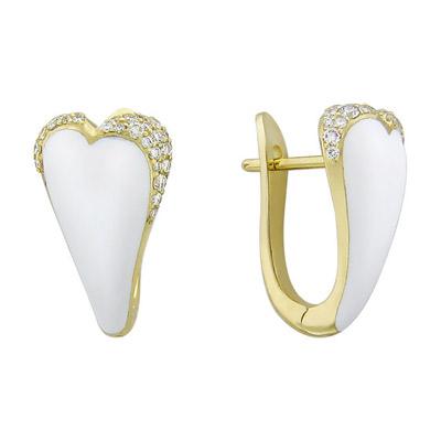 Золотые серьги Ювелирное изделие 01C646044U