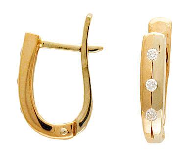 Золотые серьги Ювелирное изделие 01C661922