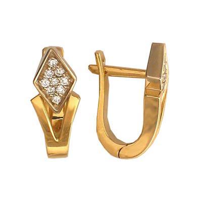 Золотые серьги Ювелирное изделие 01C661996