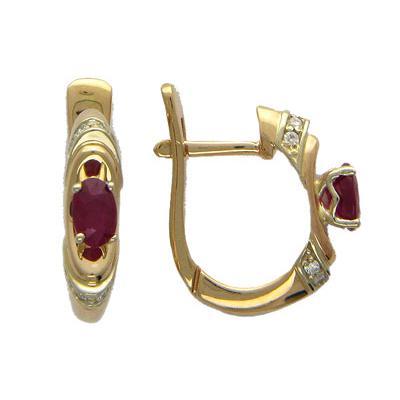 Золотые серьги Ювелирное изделие 01C663639