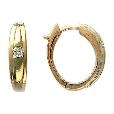 Золотые серьги Ювелирное изделие 01C664831