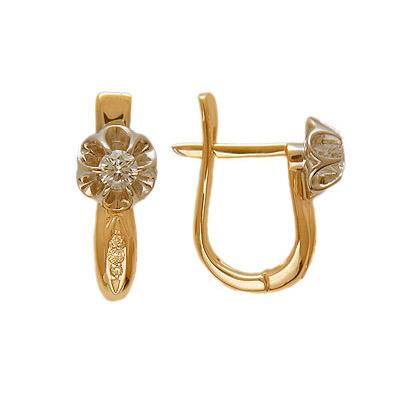Золотые серьги Ювелирное изделие 01C664991
