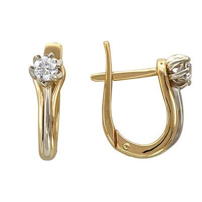 Золотые серьги Ювелирное изделие 01C665751J
