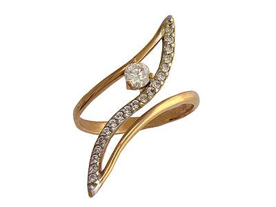 Золотое кольцо Ювелирное изделие 01K113773
