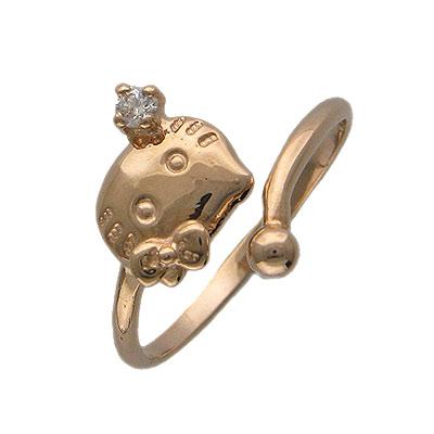 Золотое кольцо Ювелирное изделие 01K114932 парафин oneball 4wd warm assorted