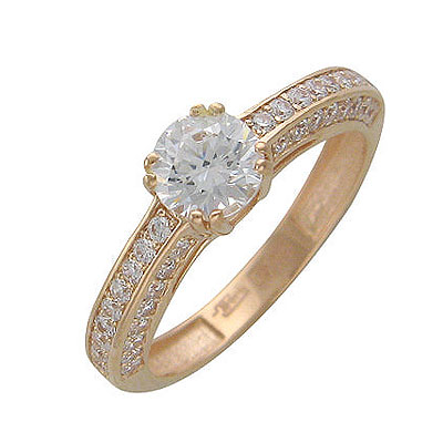 Золотое кольцо Ювелирное изделие 01K115332
