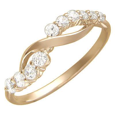 Золотое кольцо Ювелирное изделие 01K116534
