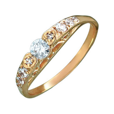 Золотое кольцо Ювелирное изделие 01K117345