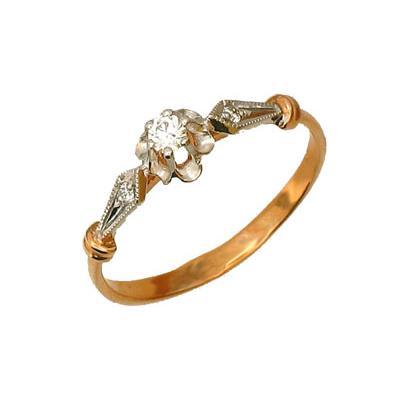 Золотое кольцо Ювелирное изделие 01K611457