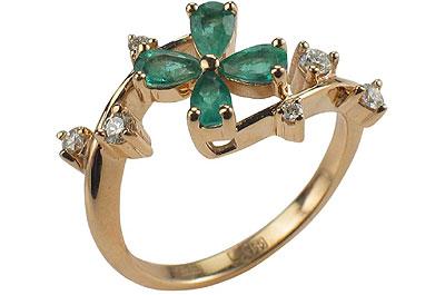 Золотое кольцо Ювелирное изделие 01K612623 10 шт 303dh page 4